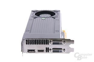 GeForce GTX 670 Slotblech