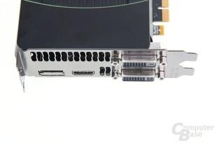 GeForce GTX 670 Anschlüsse