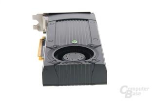 GeForce GTX 670 von hinten