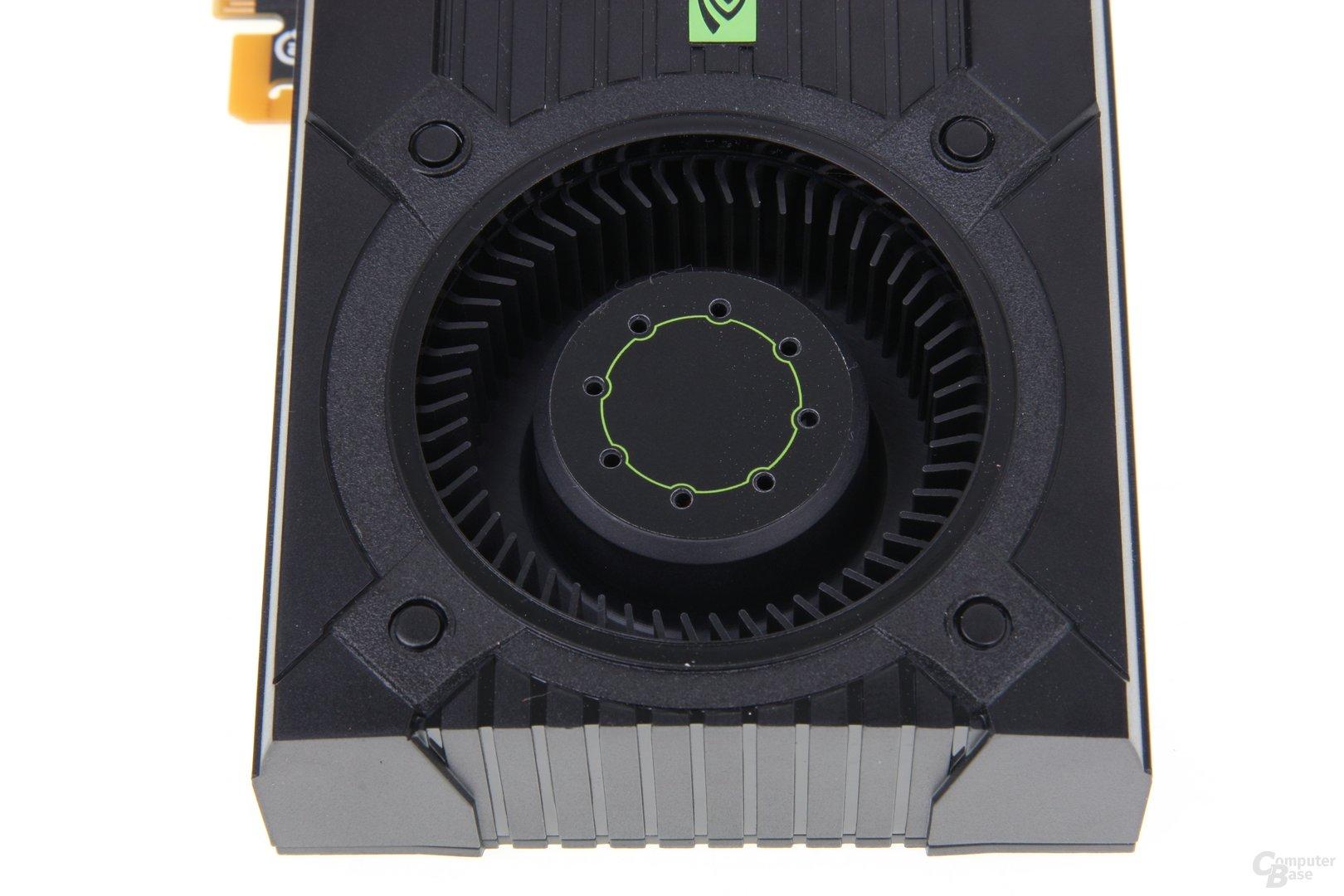 GeForce GTX 670 von oben