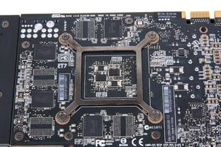 GeForce GTX 670 Kartenrückseite