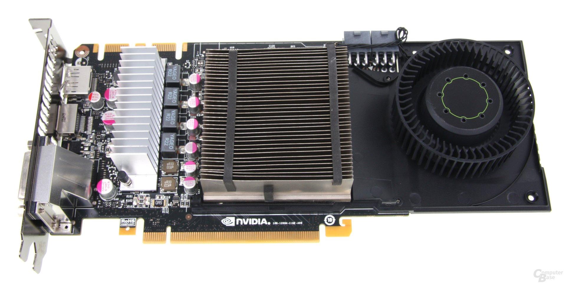 GeForce GTX 670 Kühler ohne Mantel