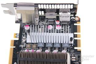 GeForce GTX 670 Kühler Stromversorgung