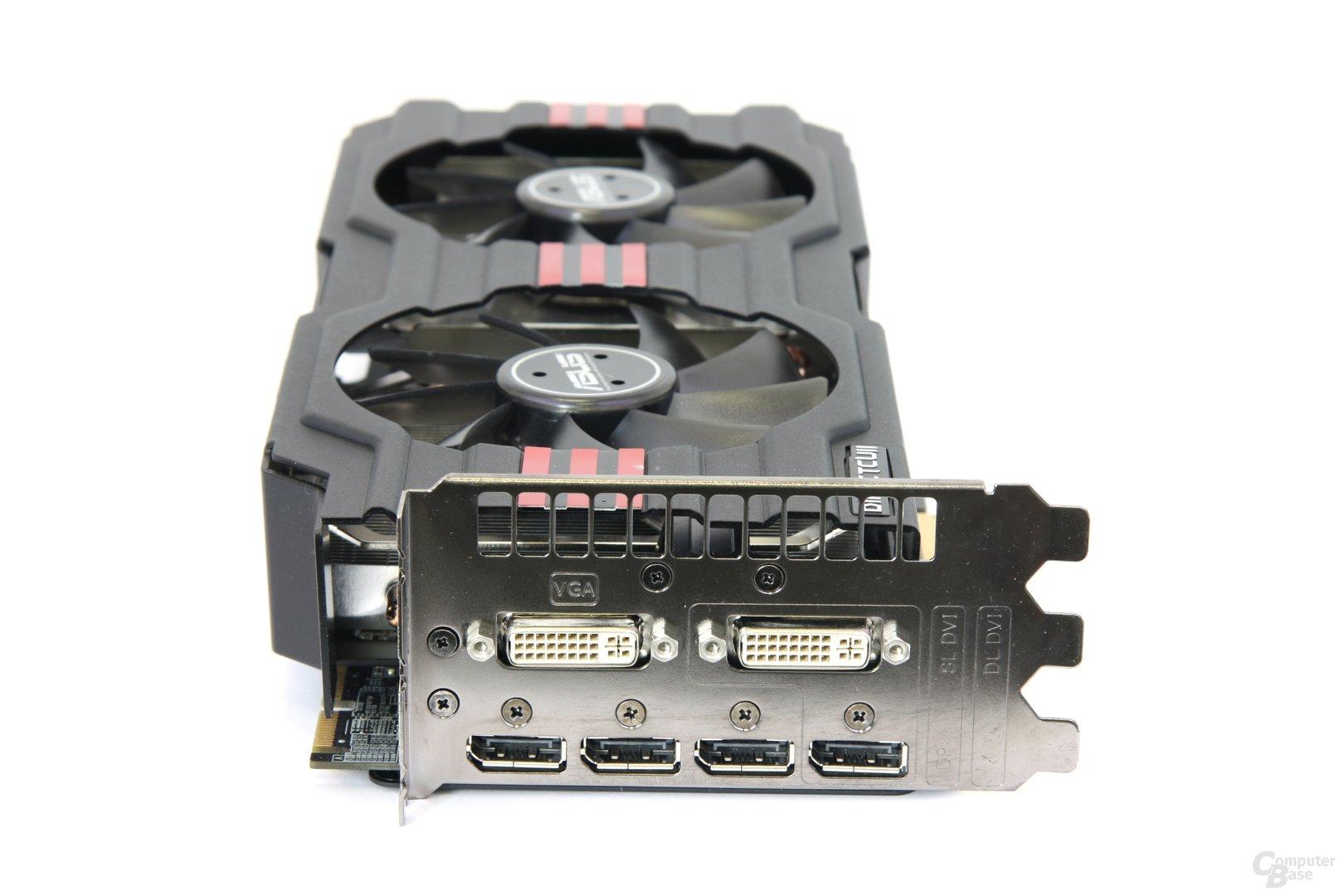 Radeon HD 7970 DCII Slotblech