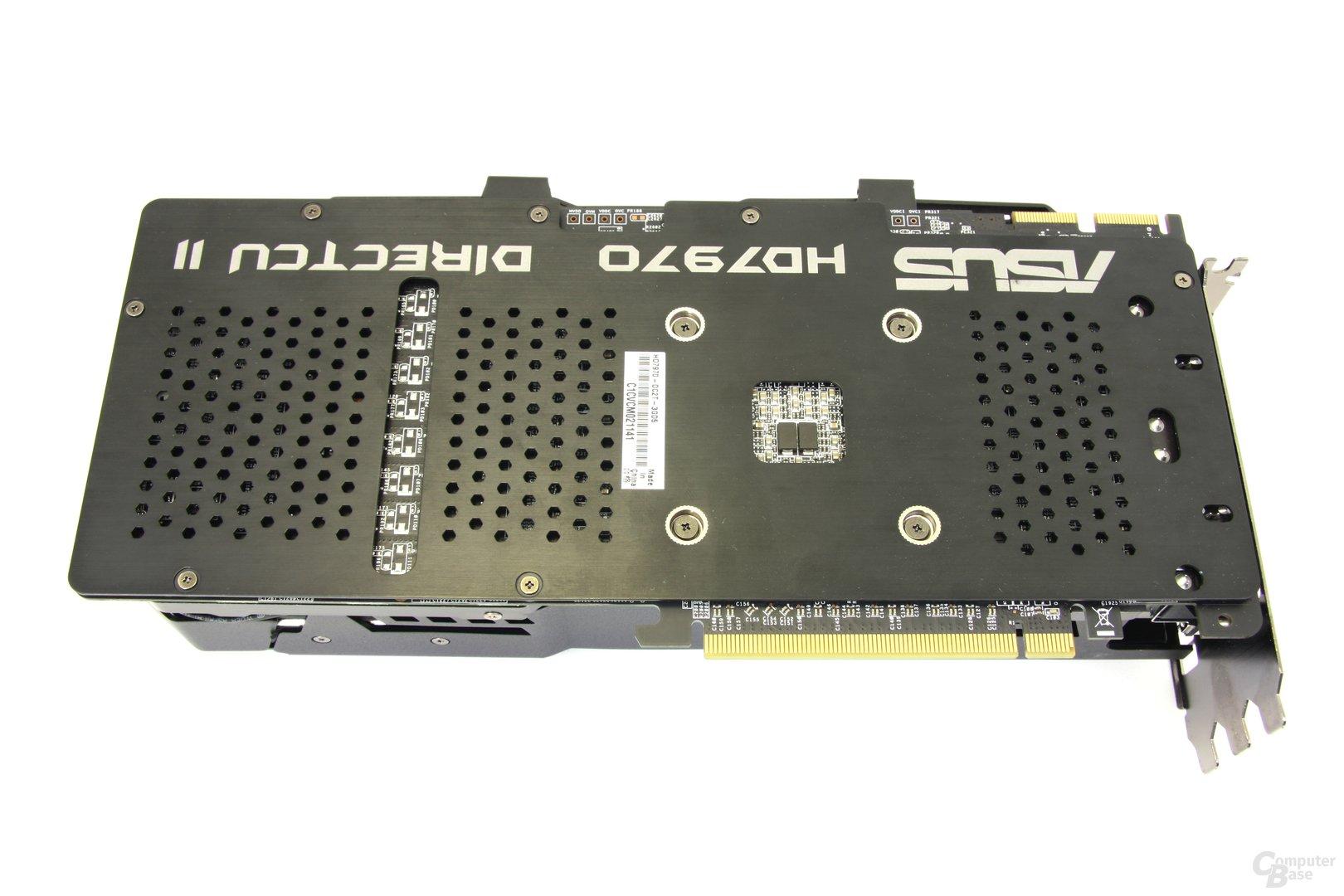 Radeon HD 7970 DCII Rückseite