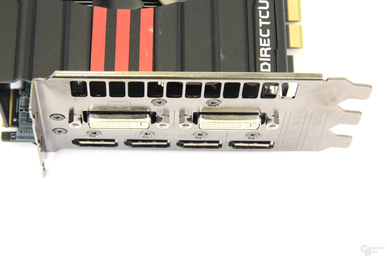 Radeon HD 7970 DCII Anschlüsse