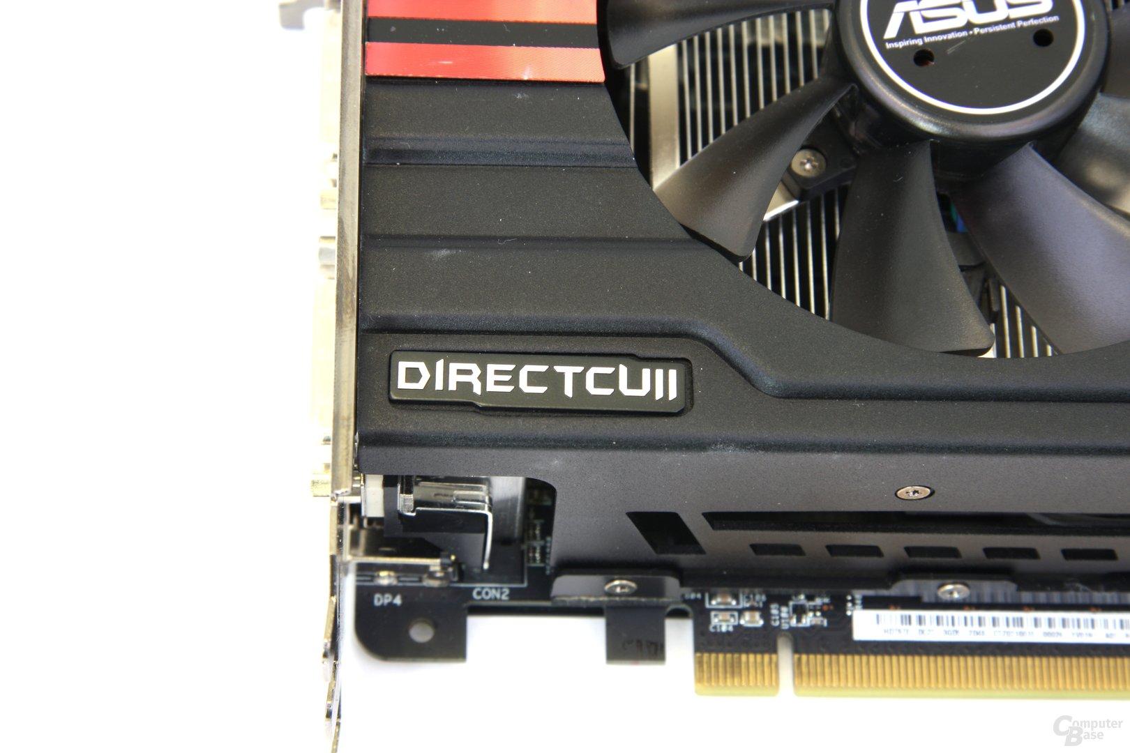 Radeon HD 7970 DCII Schriftzug