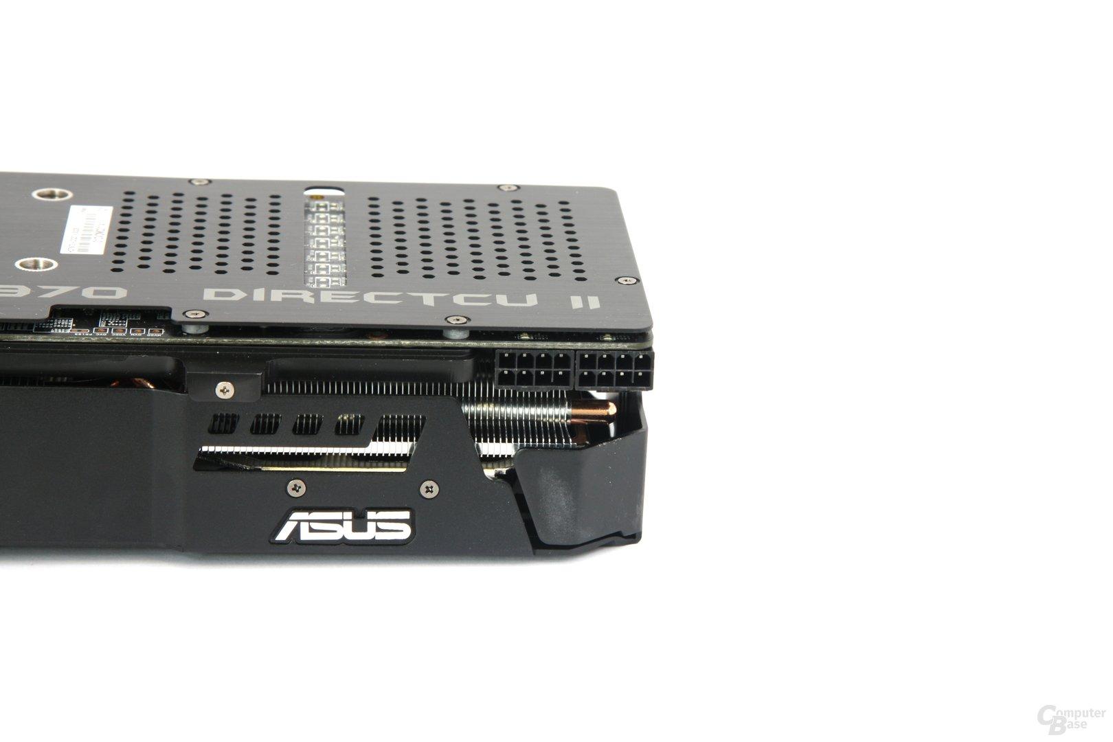 Radeon HD 7970 DCII Stromanschlüsse