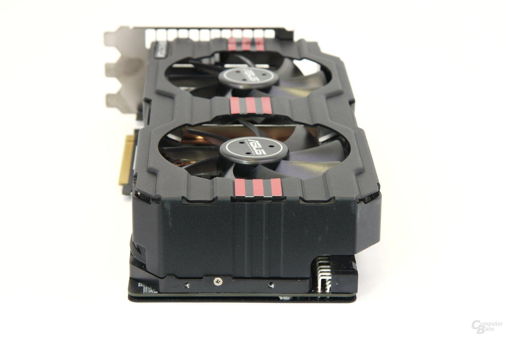 Radeon HD 7970 DCII von hinten