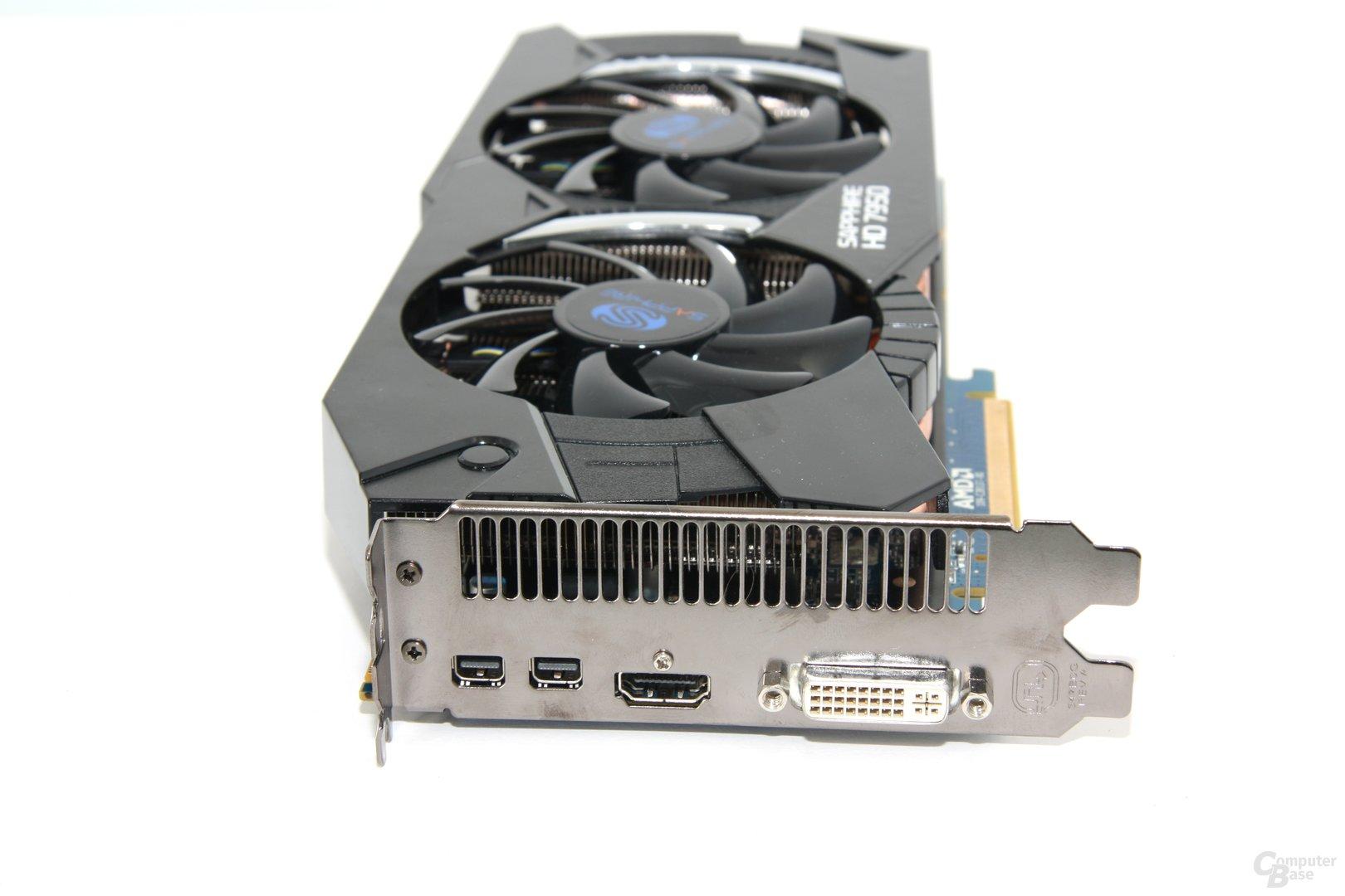 Radeon HD 7950 OC Slotblech