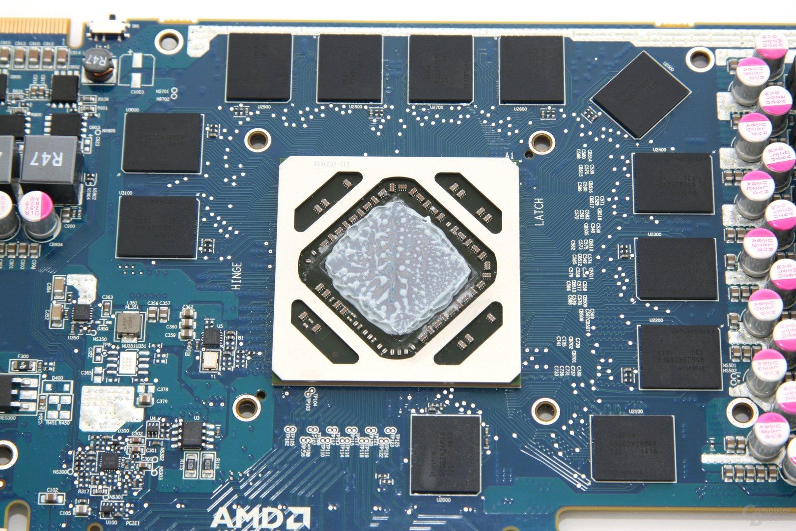 Radeon HD 7950 OC GPU und Speicher