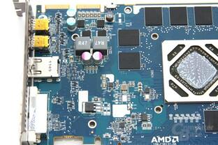 Radeon HD 7950 OC Bauteile