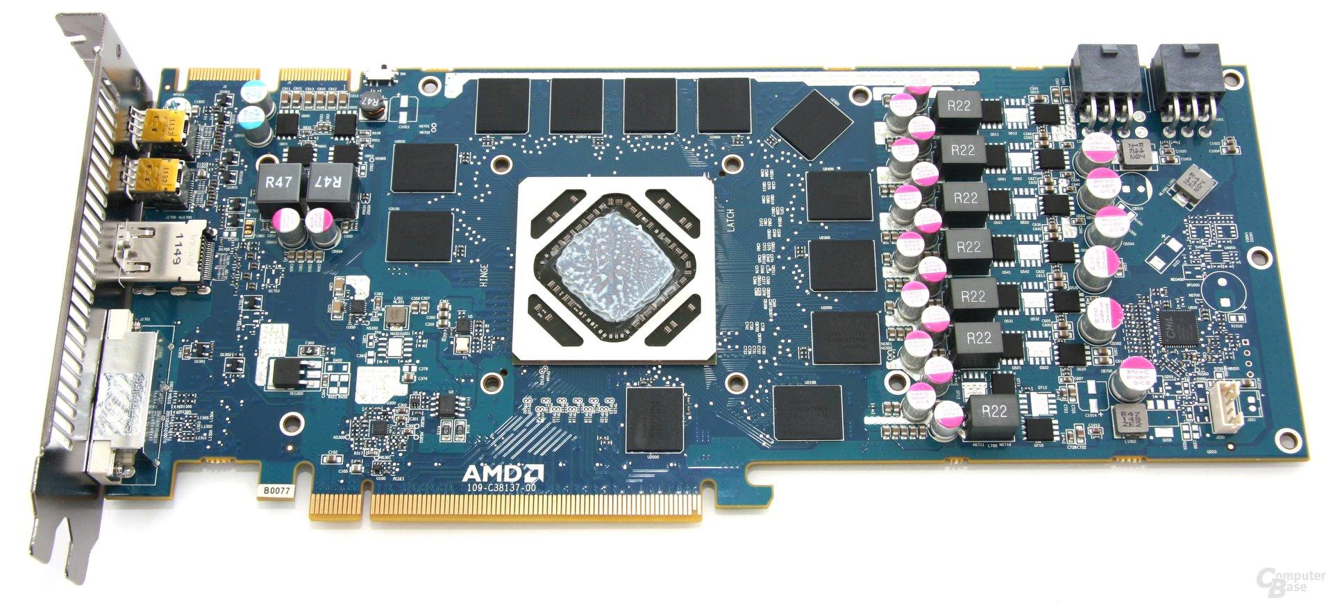 Radeon HD 7950 OC ohne Kühler
