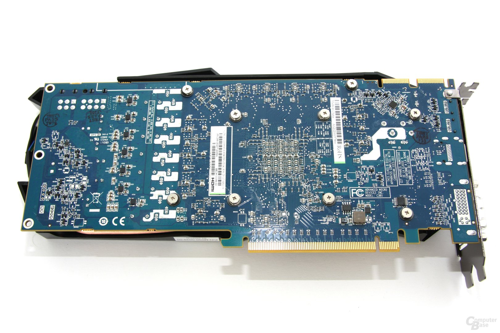 Radeon HD 7950 OC Rückseite