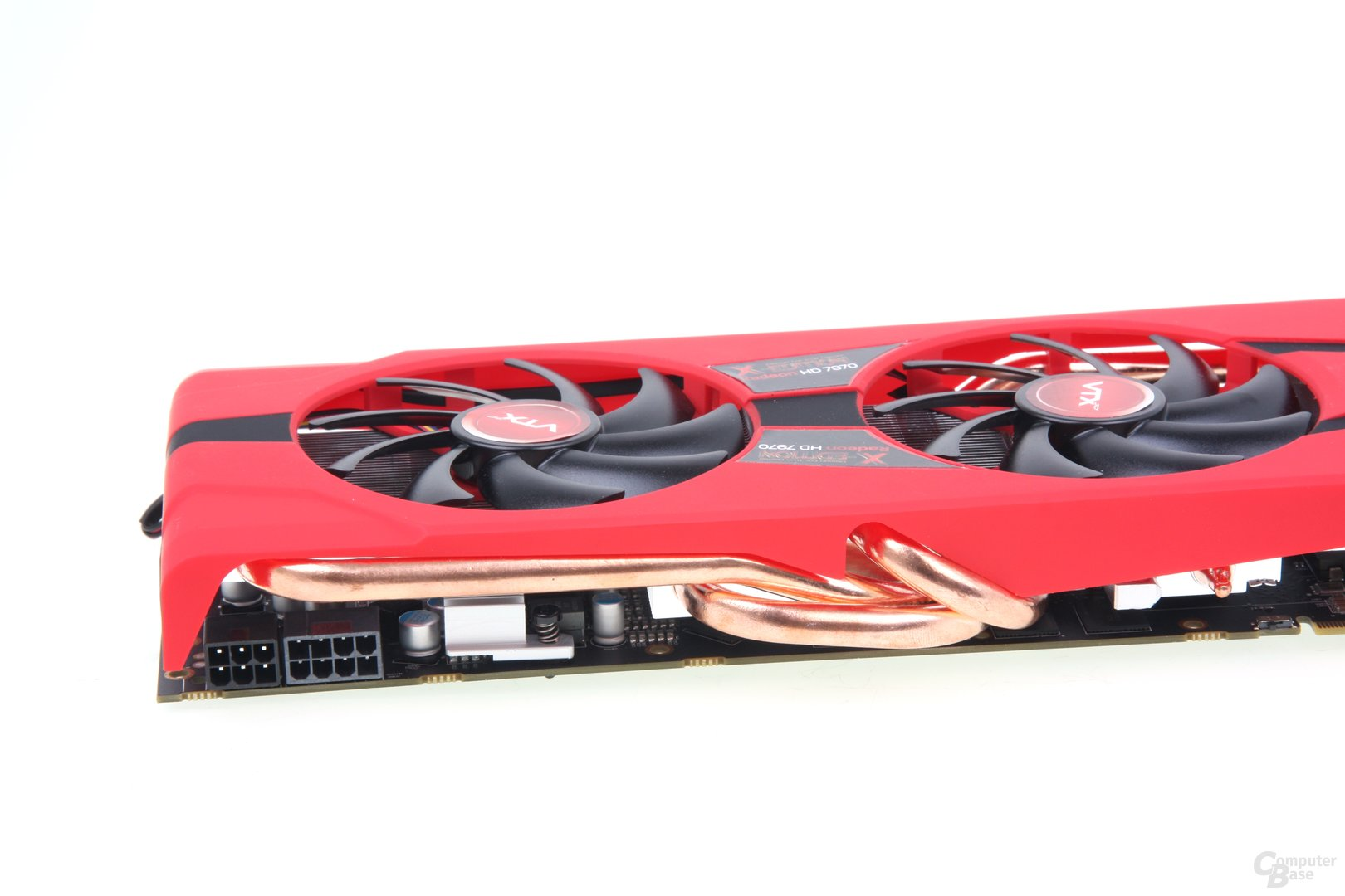 Radeon HD 7970 X-Edition Heatpipes