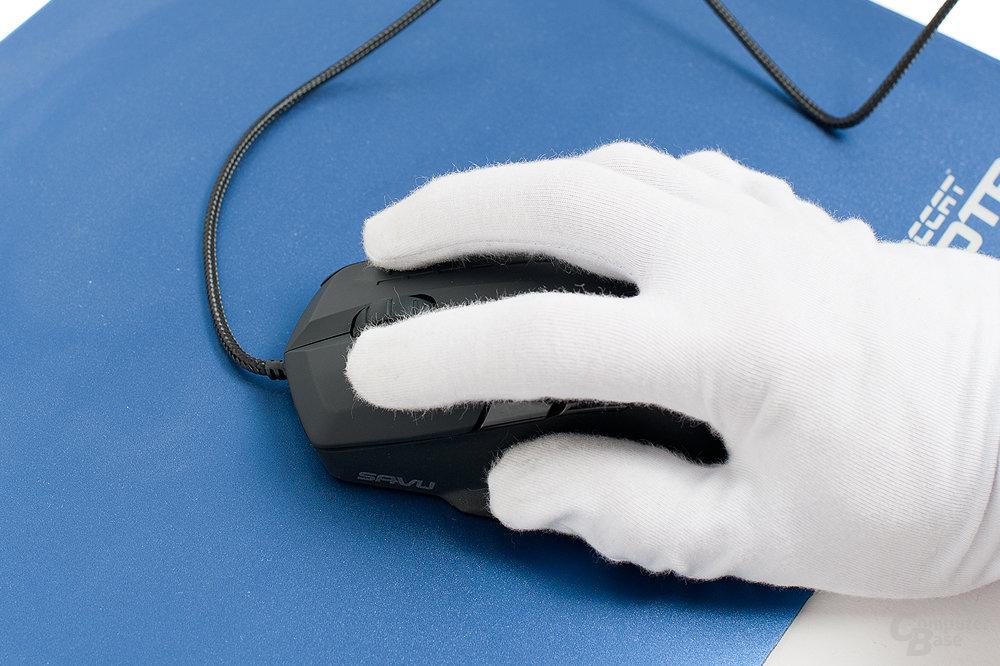 Ergonomisch für kleine Hände