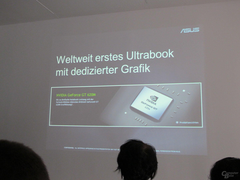 Erstes Ultrabook mit dGPU