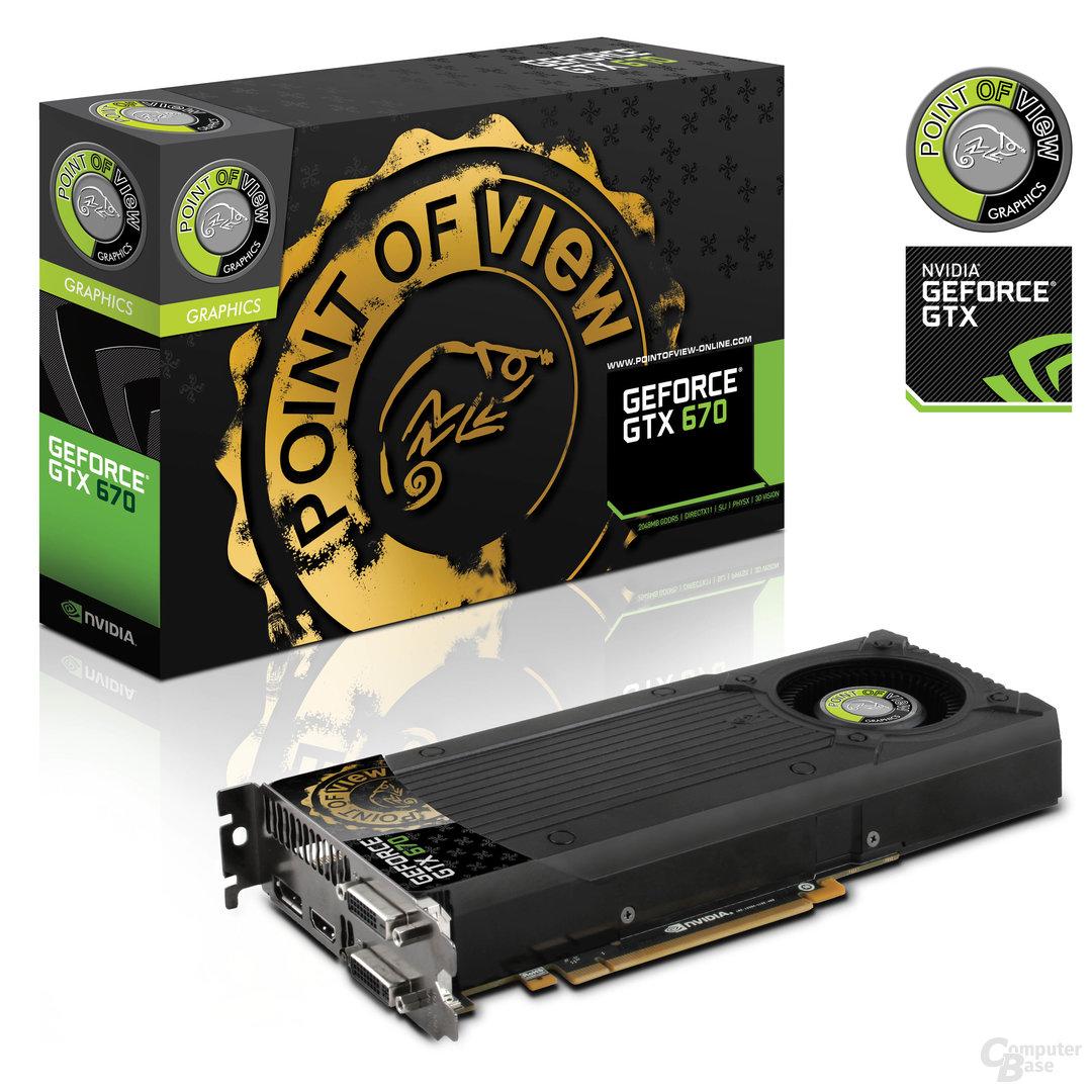 Point of View GeForce GTX 670