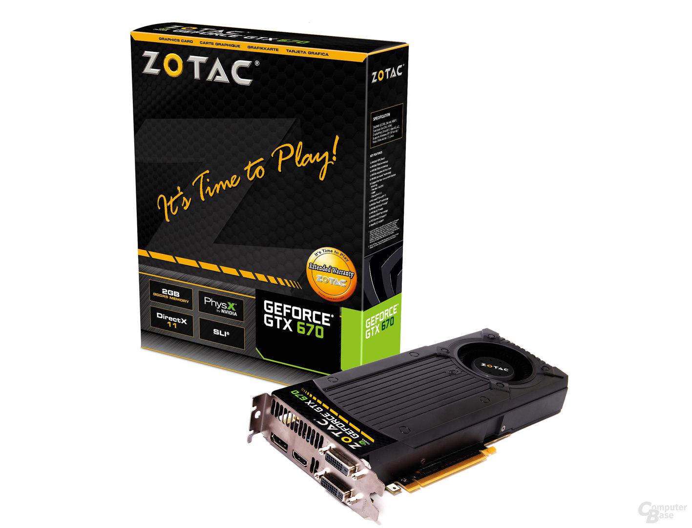 Zotac GeForce GTX 670