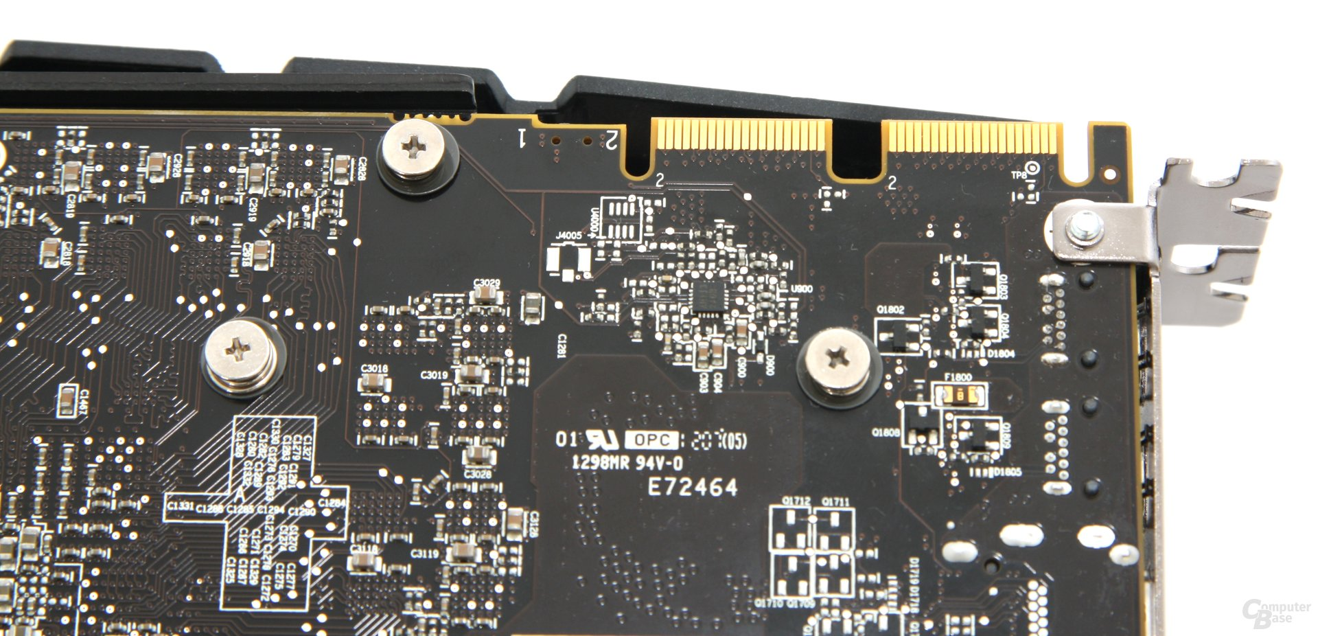 Radeon HD 7970 OC CF-Anschlüsse
