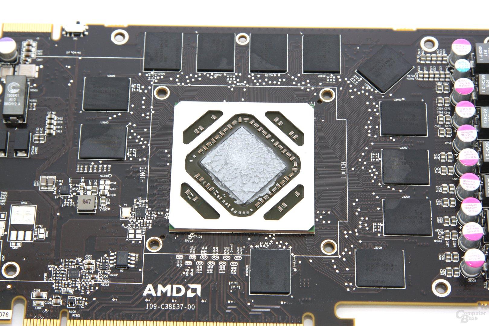 Radeon HD 7970 OC GPU und Speicher