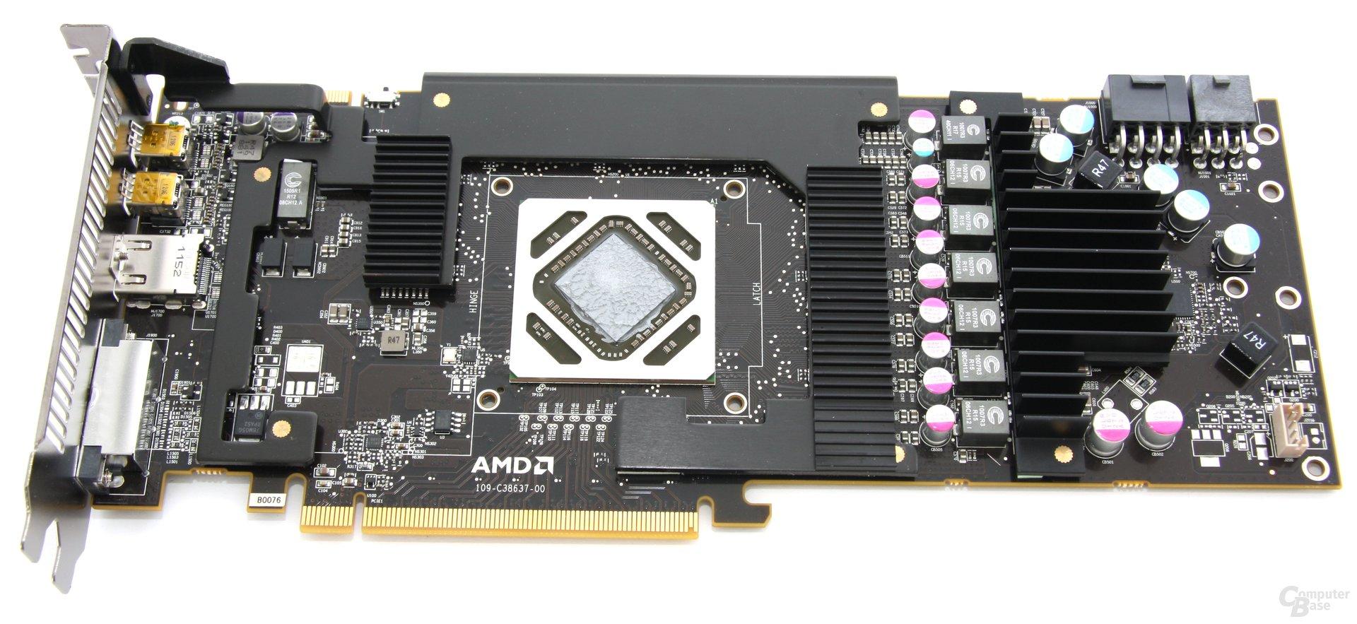Radeon HD 7970 OC Kühlplatte