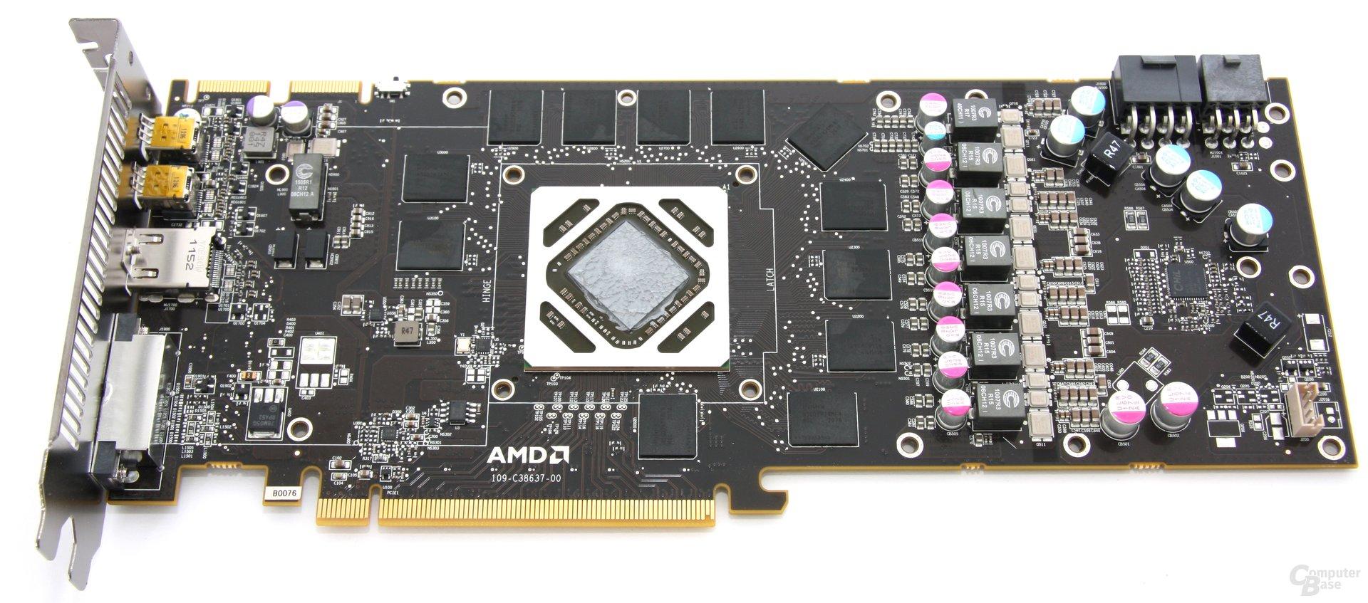Radeon HD 7970 OC ohne Kühler
