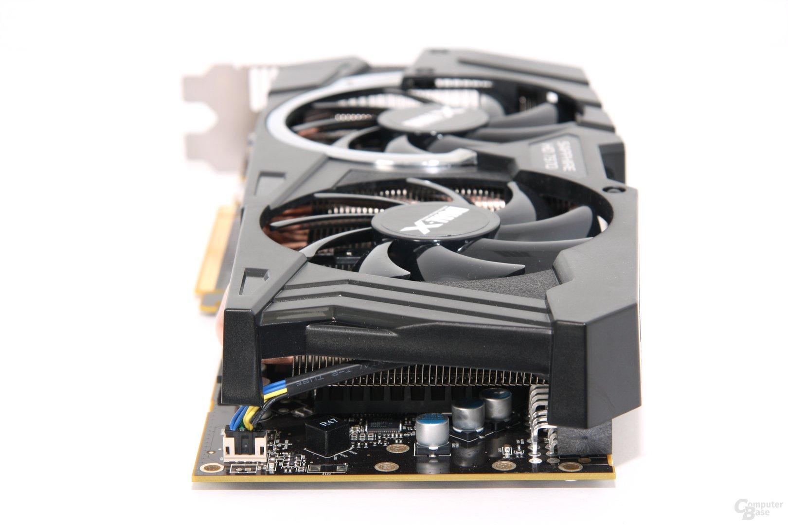 Radeon HD 7970 OC von hinten