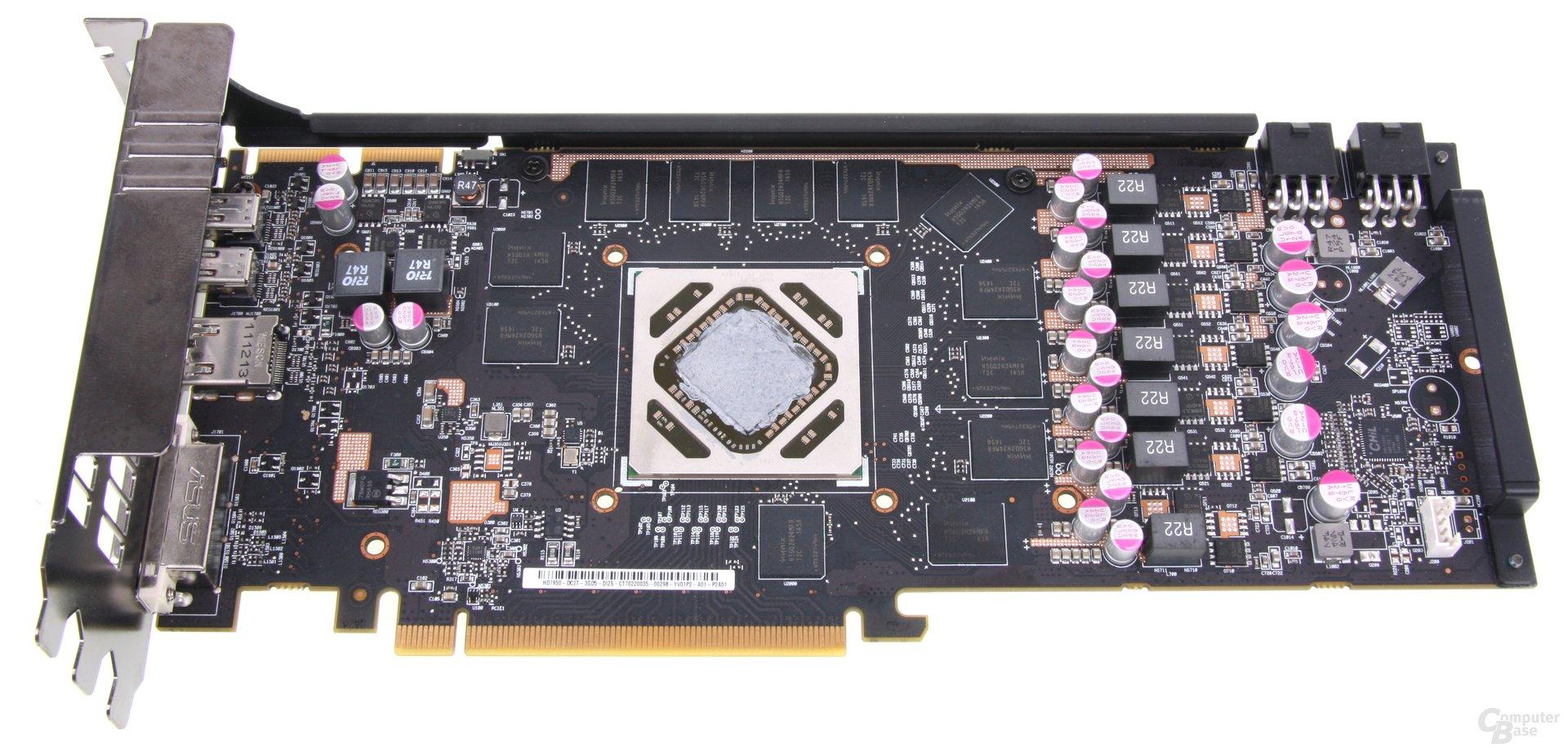 Radeon HD 7950 DCII ohne Kühler