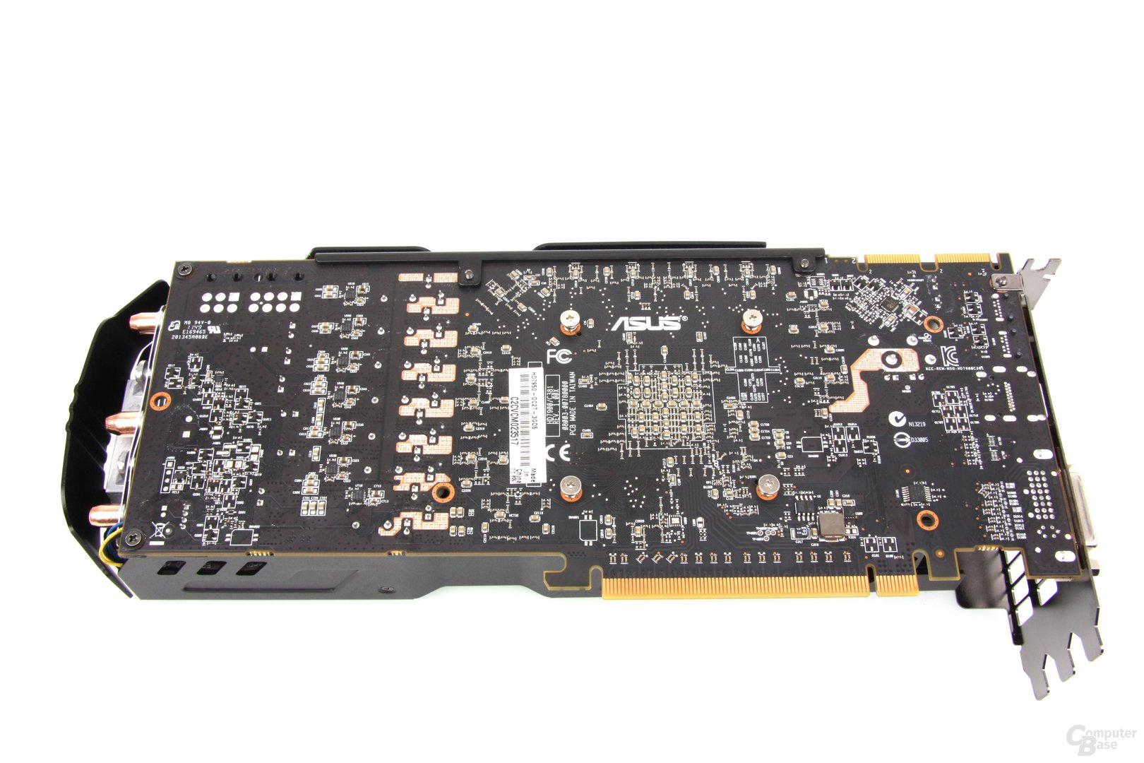 Radeon HD 7950 DCII Rückseite