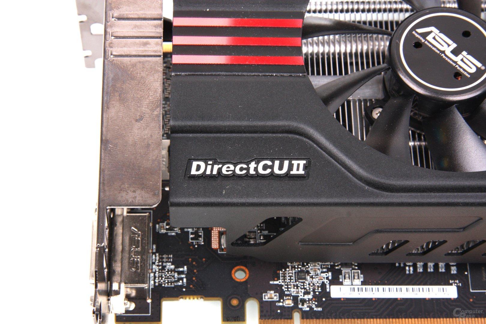 Radeon HD 7950 DCII Schriftzug