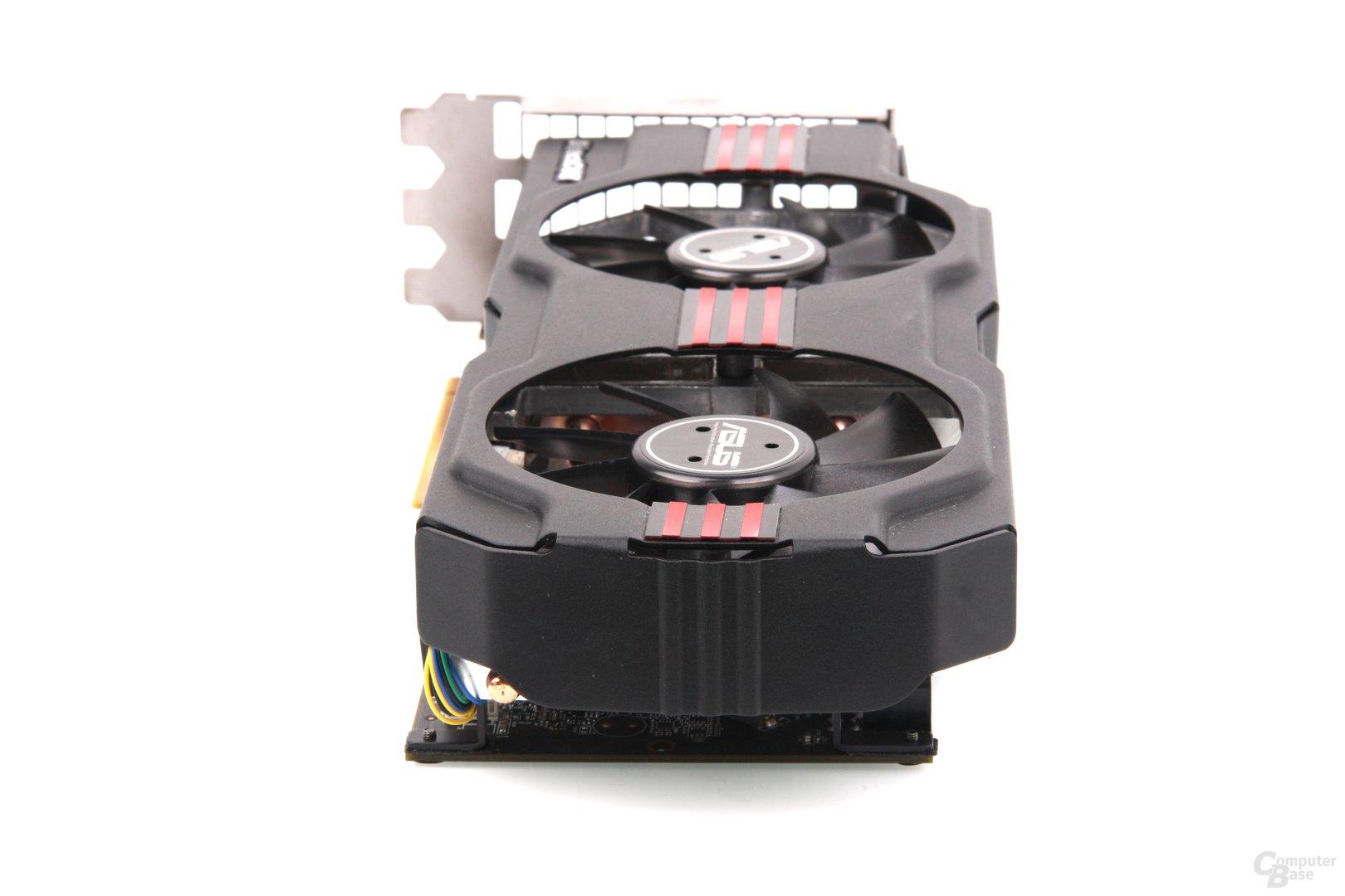 Radeon HD 7950 DCII von hinten