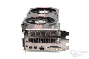 Radeon HD 7950 DCII Slotblech