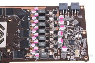 Radeon HD 7950 TFIII Stromversorgung