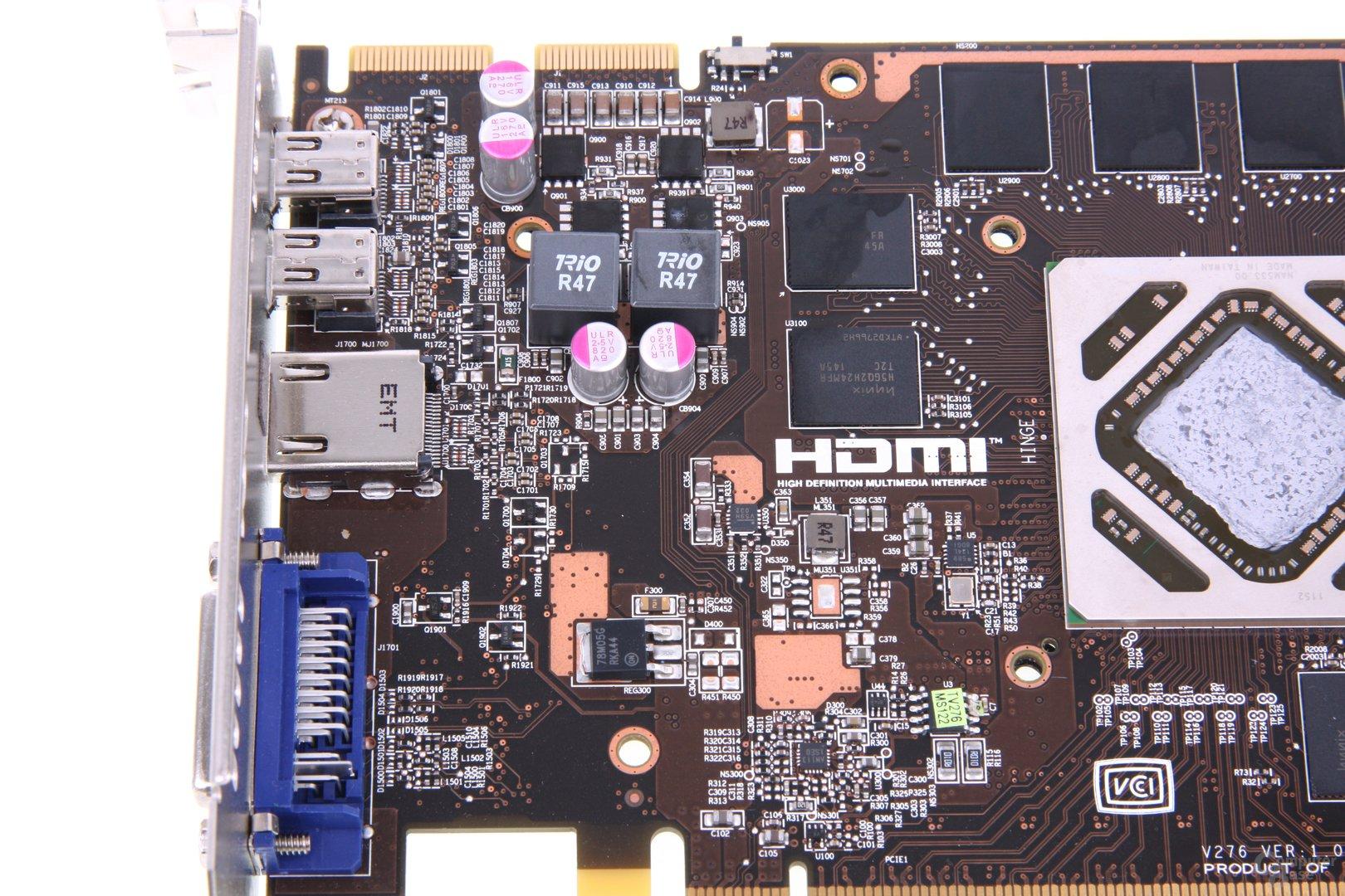 Radeon HD 7950 TFIII Bauteile