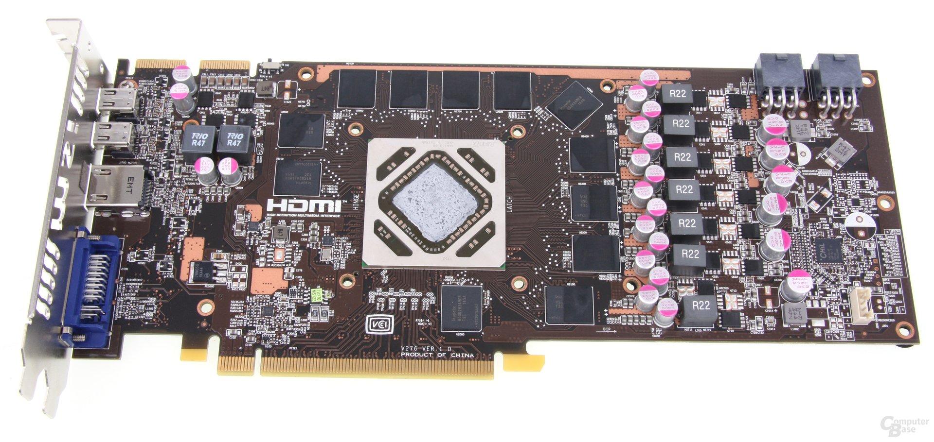 Radeon HD 7950 TFIII ohne Kühler