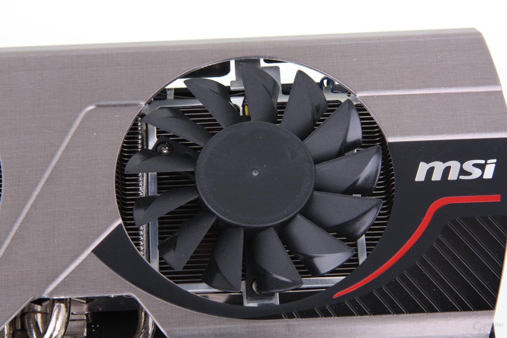 Radeon HD 7950 TFIII Lüfter