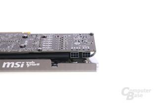 Radeon HD 7950 TFIII Stromanschlüsse