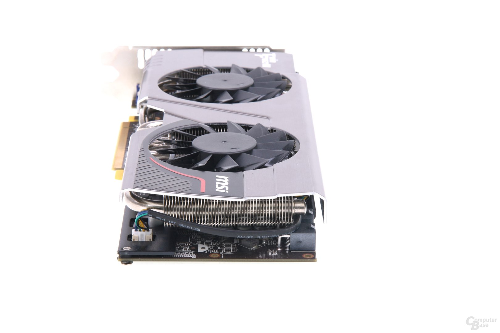 Radeon HD 7950 TFIII von hinten
