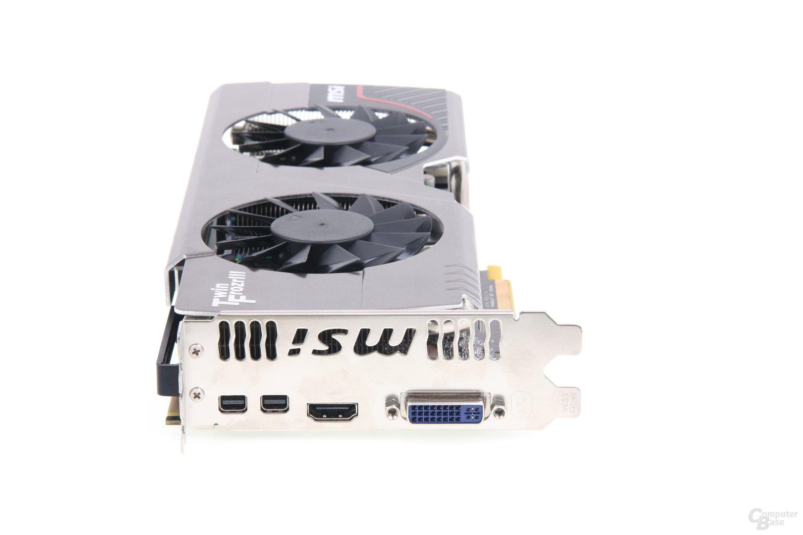Radeon HD 7950 TFIII Slotblech