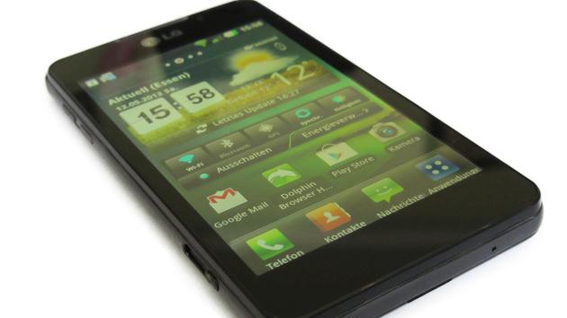 LG Optimus 3D Max im Test: 3D auf dem Handy 2.0