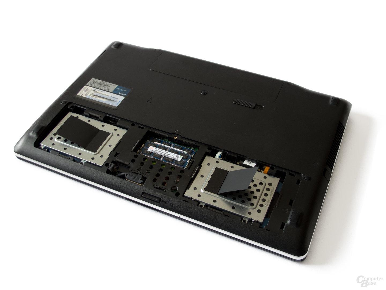 Festplatte und Arbeitsspeicher