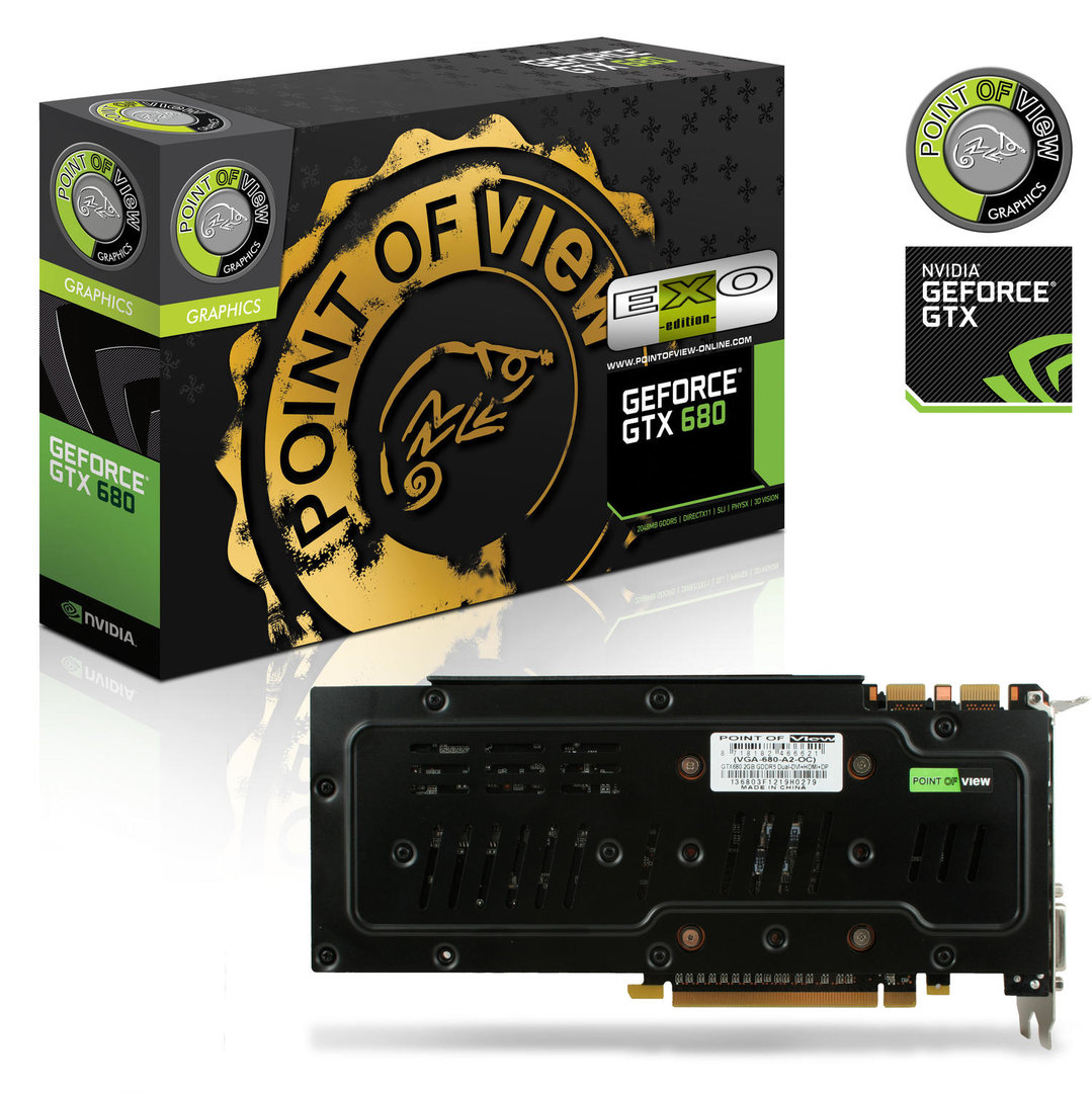 Point of View GeForce GTX 680 EXO Edition