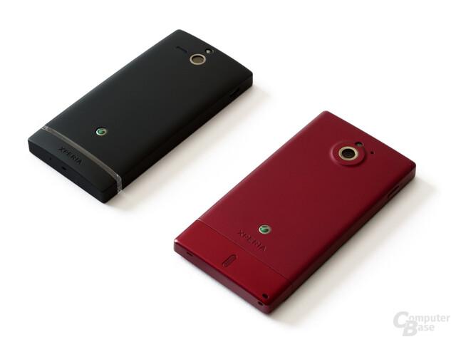 Sony Xperia Sola und Xperia U