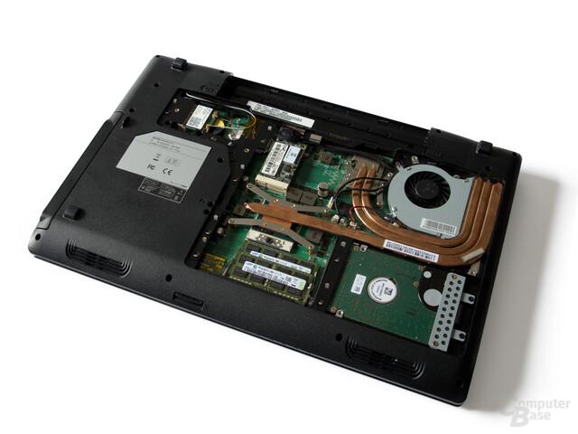 CPU, GPU, RAM, SSD und HDD