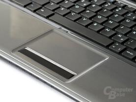 One M56-2O: Gute Tastatur, unbefriedigendes Touchpad