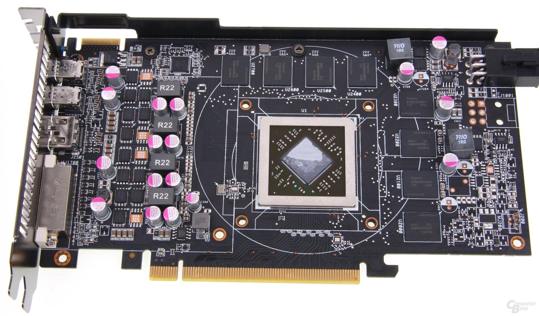 Radeon HD 7850 DCII ohne Kühler