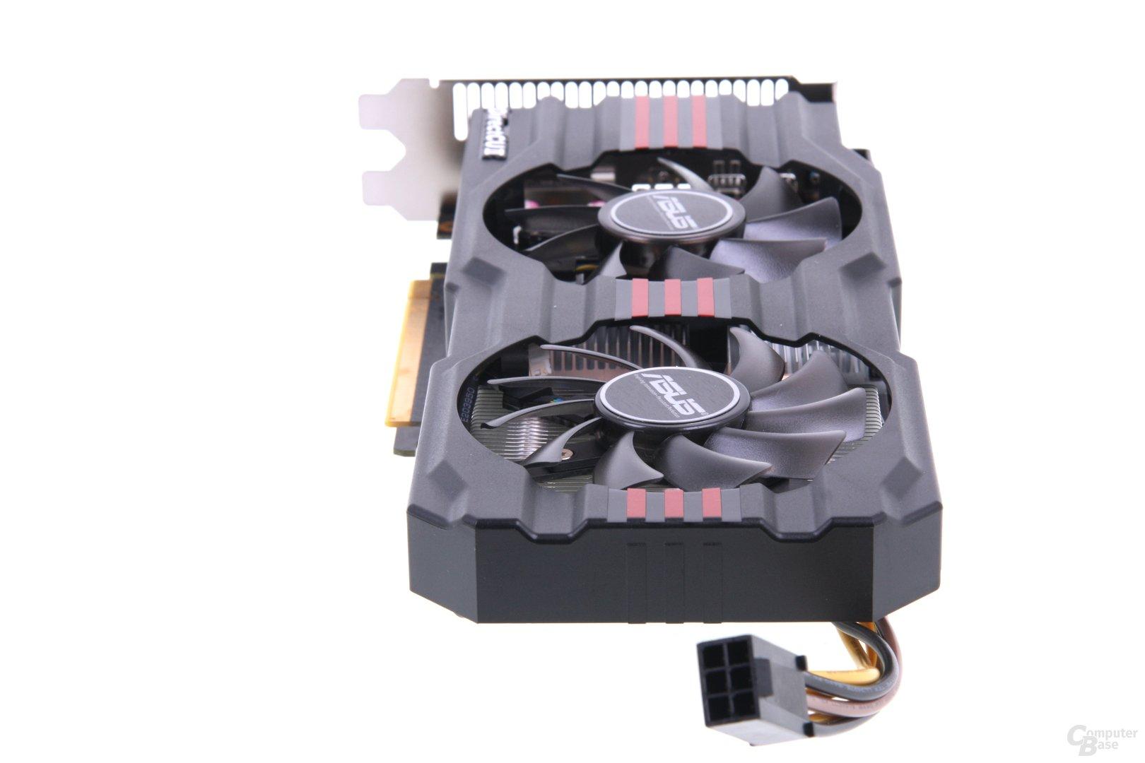 Radeon HD 7850 DCII von hinten