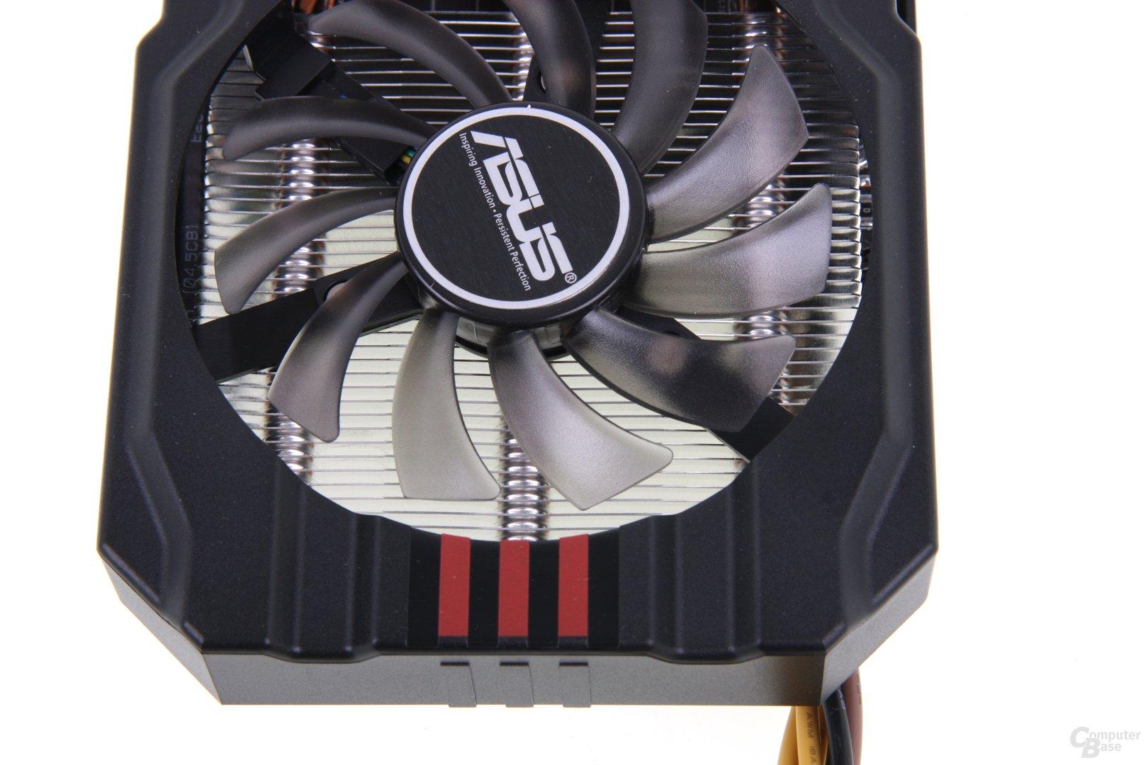 Radeon HD 7850 DCII von oben