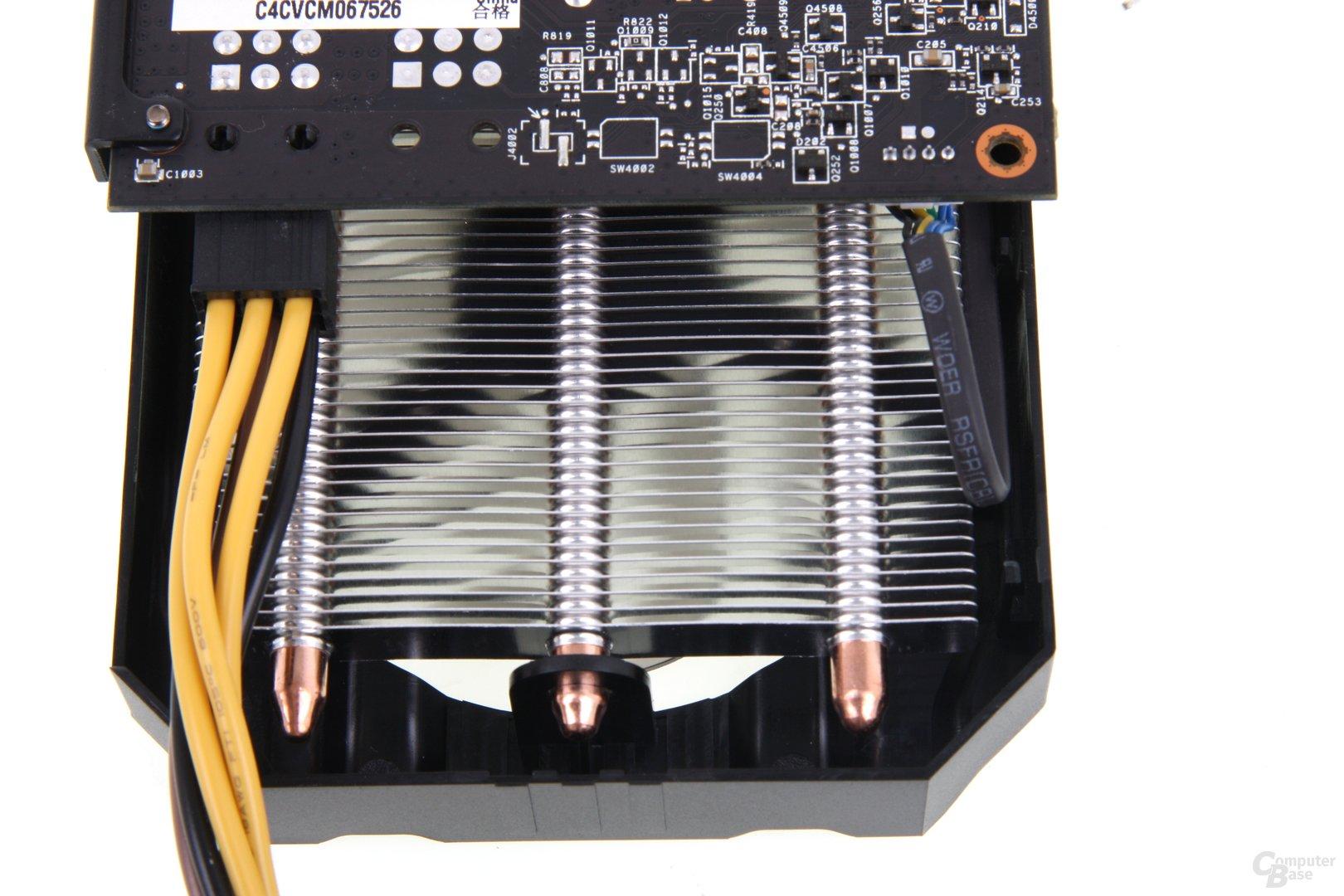 Radeon HD 7850 DCII Stromverlängerung